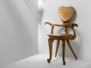 The Calvet armchair.