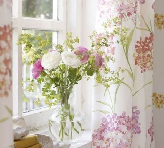A fun print can also be perfect for summer curtains.