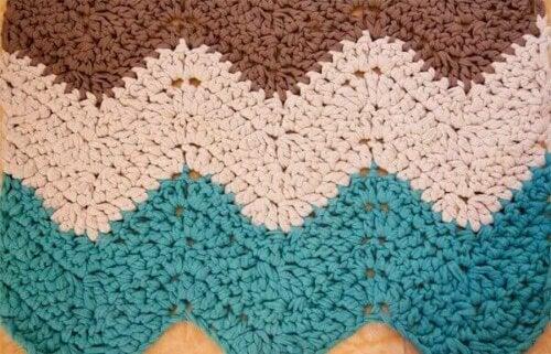 A knit piece.