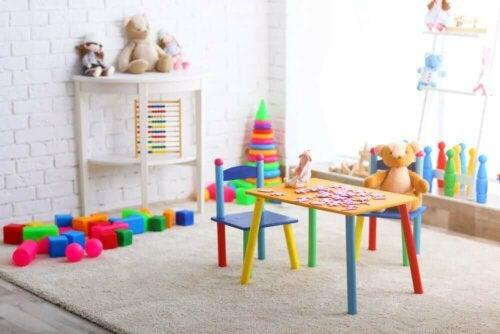 A play room.