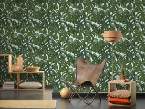 Painted Wallpaper - A Transforming Element