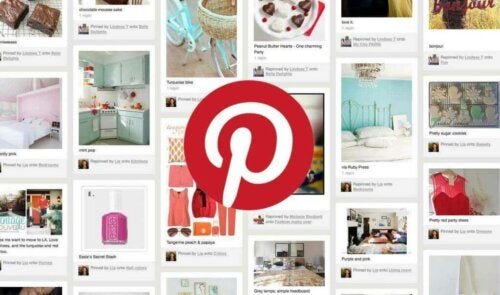 A screenshot or Pinterest, one of the best interior design apps.