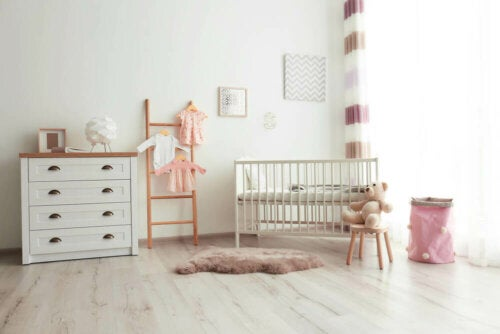 An example of how to decorate a nursery.