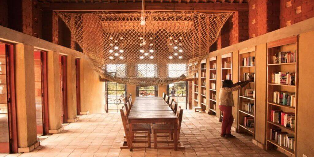 Muyinga Library in Burundi is one of the unique children's libraries.