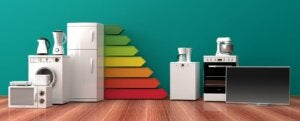An image representing efficient domestic appliances.