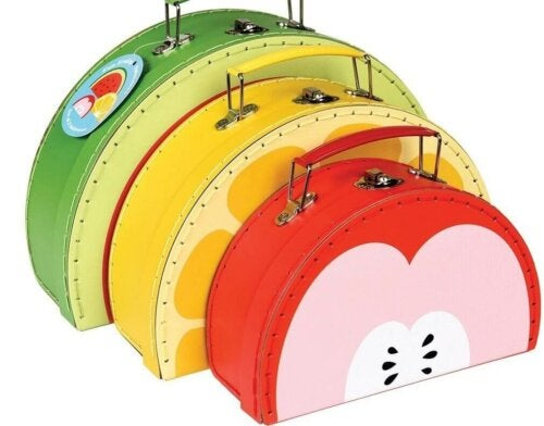 Fun, colorful bags.