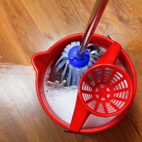 바닥 청소에 가장 적합한 도구는 무엇일까?