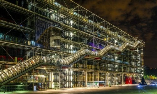 The Architecture of the Pompidou Center
