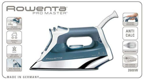 One of the best irons is the Rowenta Pro Master.