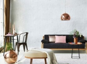 The Black Sofa - Fitting It into Your Home Decor