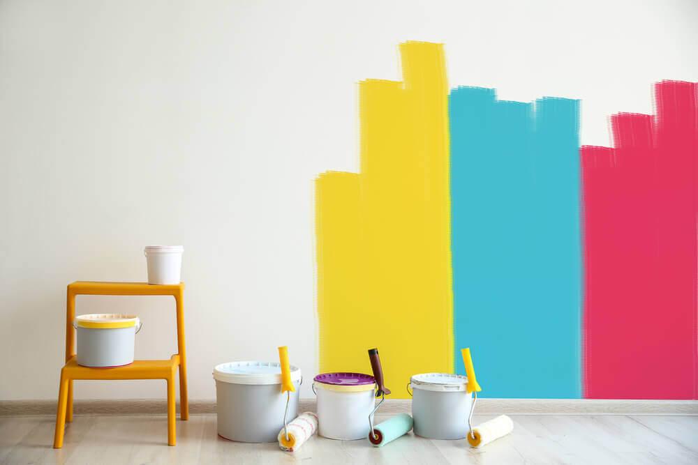 Multicolored decoration