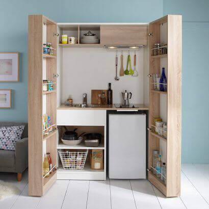 A transforming kitchen.