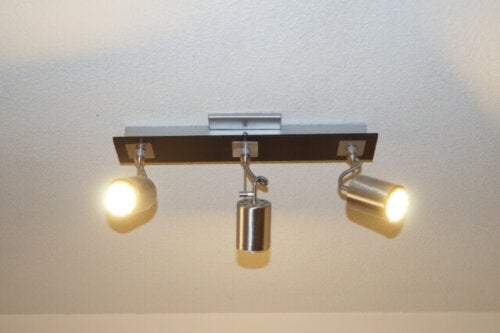 One of the most common types of light bulbs.