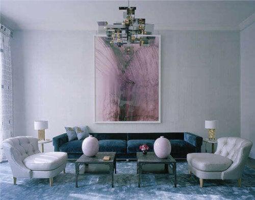 David Collins living room.