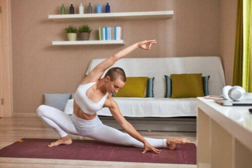 Doing Yoga at Home - Setting up a Place