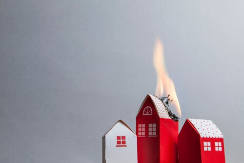 Fire safety systems can help prevent house fires.