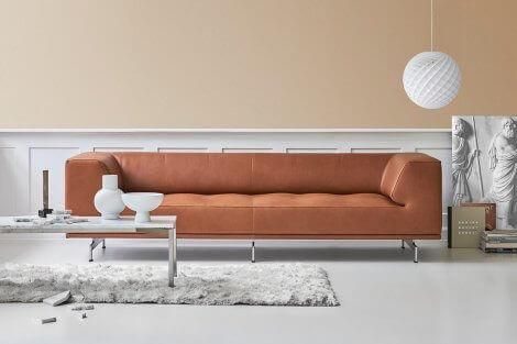 The perfect sturdy sofa designed by Erik Joergensen