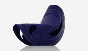 The Kuki chair is the only design by Zaha Hadid under industrial production.