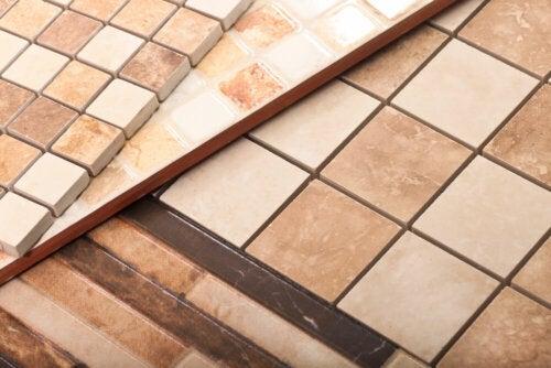 Ceramic tiles can be beautiful.