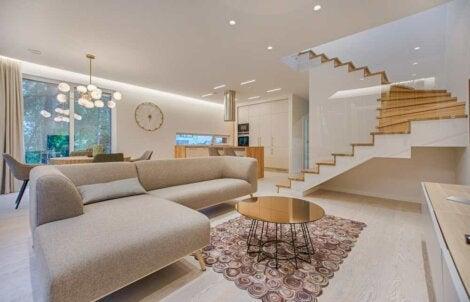 Using texture in interior design.