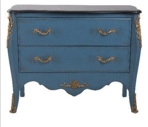 An antique dresser.
