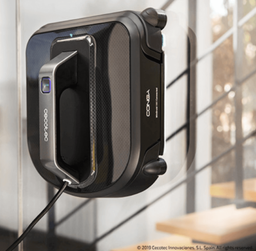A window cleaning robot can keep your windows clean.