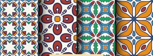 Color patterns to use on the floor, a decorating trend
