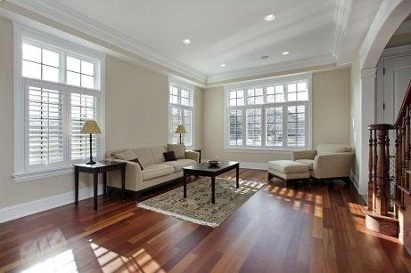 5 tips for a more elegant home - wooden flooring.