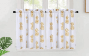 Pineapple drapes.
