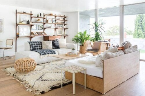 A Radiant White Living Room