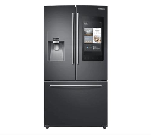 A Samsung smart refrigerator.