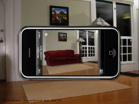 Snapshot showroom app.