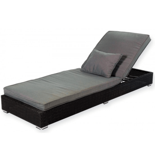 Sun loungers can be a functional and comfortable piece of furniture.