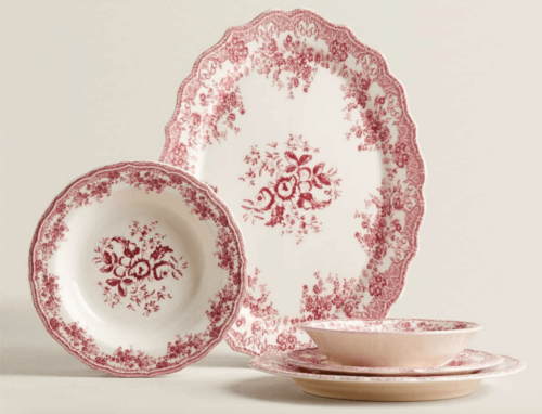 A Zara Home tableware set.