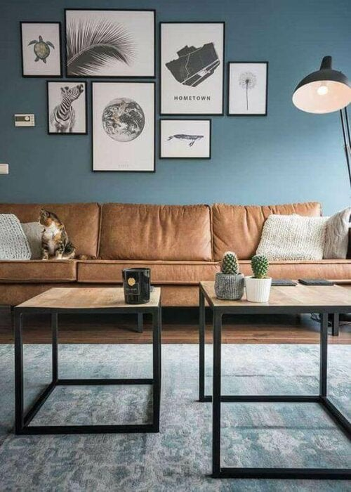 5 Ideas for The Wall Behind the Living Room Couch