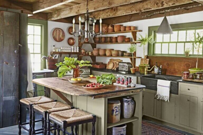 A Farmhouse Kitchen - A Home with Character