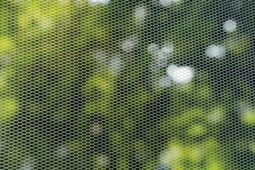 A mosquito screen to sleep better.