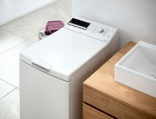 A small washing machine which is one of many adaptable appliances.