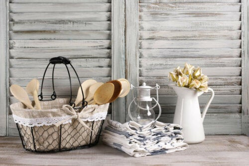 Some décor objects inspired by the countryside.