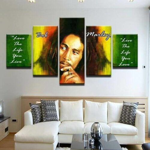Using Celebrity Images in Home Decor