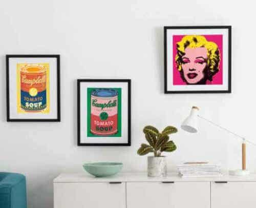 Household Items Based on Andy Warhol's Art