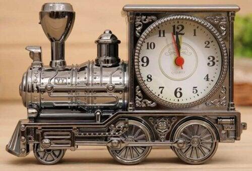 A clock train.