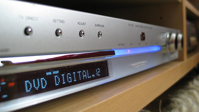 DVD players were popular in the 2000's.