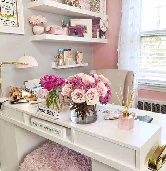How to Create Feminine-Style Workspaces