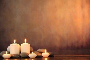 An image of candles.