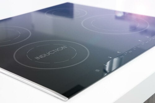 An induction stovetop.