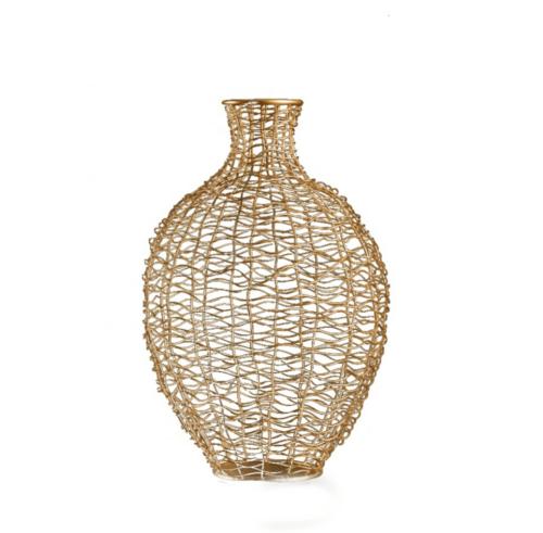 A see-through vase.