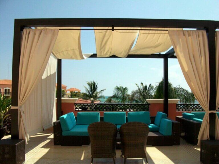 Terrace to Chill Out Area in Five Steps