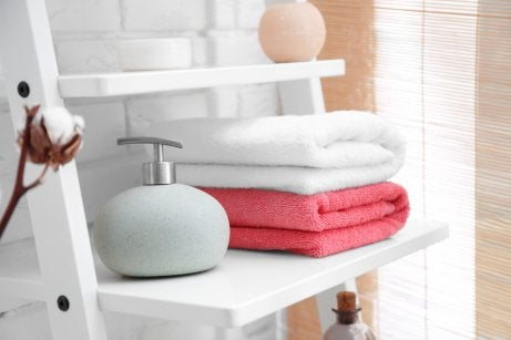 new towels to renovate your bathroom