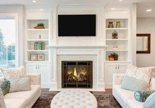 Ways to Create Symmetry Around Your Fireplace